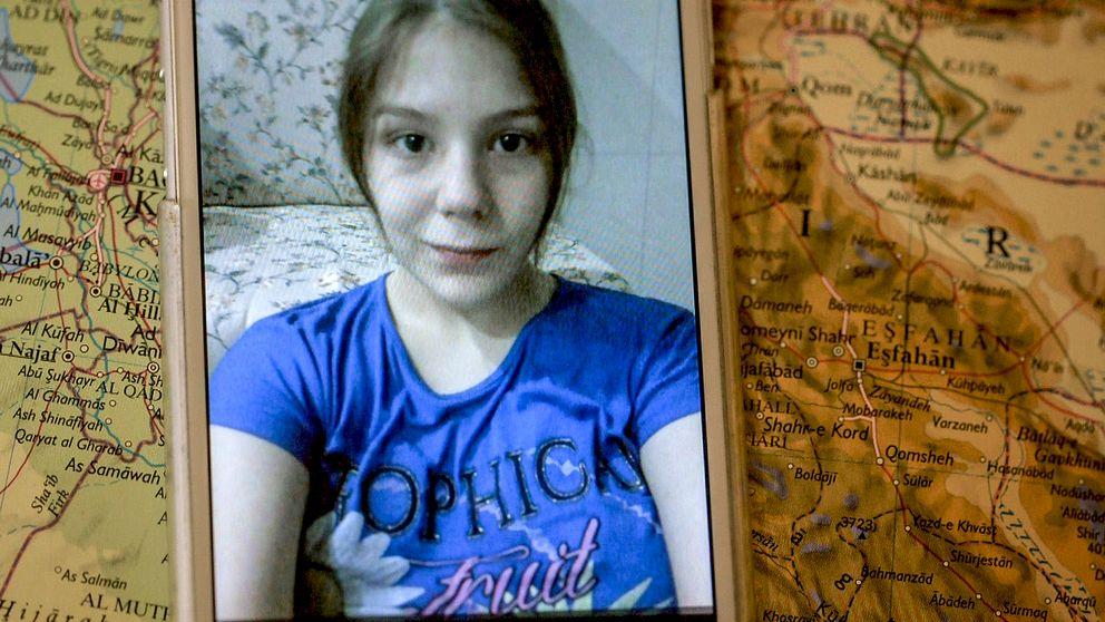 Anki och Pasis 15-åriga dotter Marilyn är fånge hos IS.
