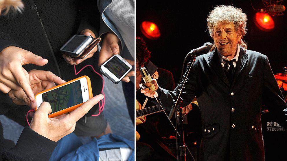 Bob Dylan och Pokémon.