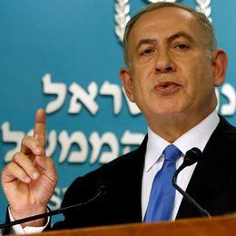 USA:s utrikesminister John Kerry och Israels premiärminister Benjamin Netanyahu.