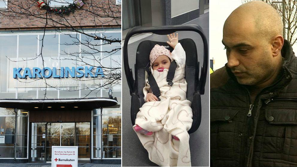 Flicka skickades hem från barnakuten – dog två timmar senare
