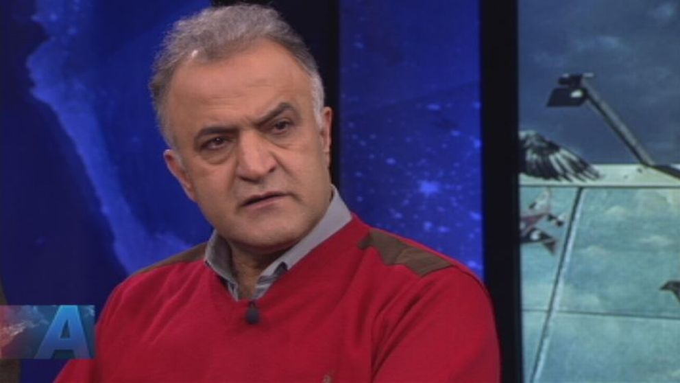 Salam Kurda, ordförande för Husby företagarförening gästade Aktuellts studio.