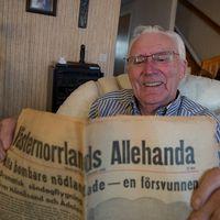 """För Gunnar """"Ludde"""" Lundin, 92, skulle det betyda oerhört mycket om Gåtan Röd Niklas fick en lösning. – Det här har varit ett trauma i många år."""