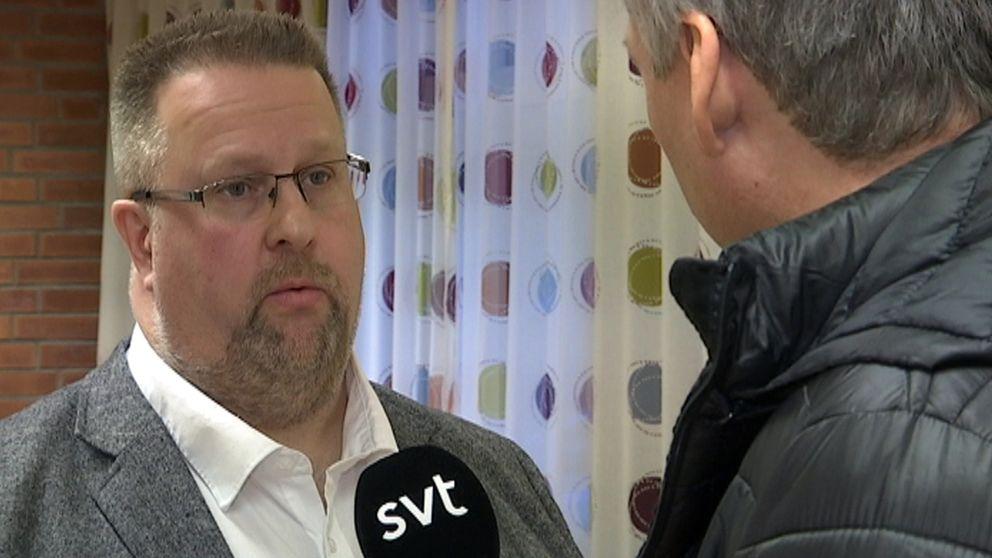 Lennart Höckert (S), socialnämndens ordförande i Trelleborgs kommun.