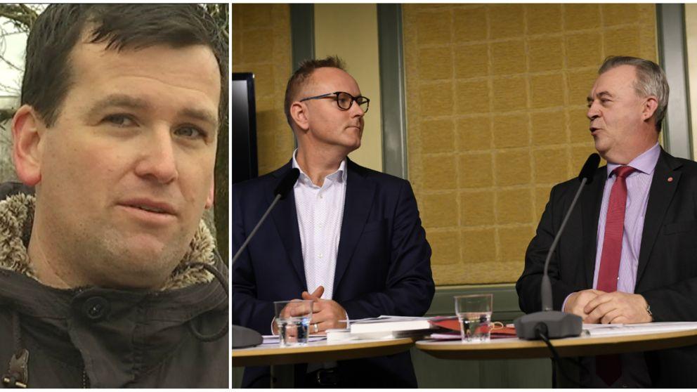 Idaglämnades slutbetänkandetpå en ny landsbygdspolitik till landsbygdsminister Sven-Erik Bucht (S).Kommunrådet i Hylte Ronny Löfquist (S) ser positivt på flera av förslagen.