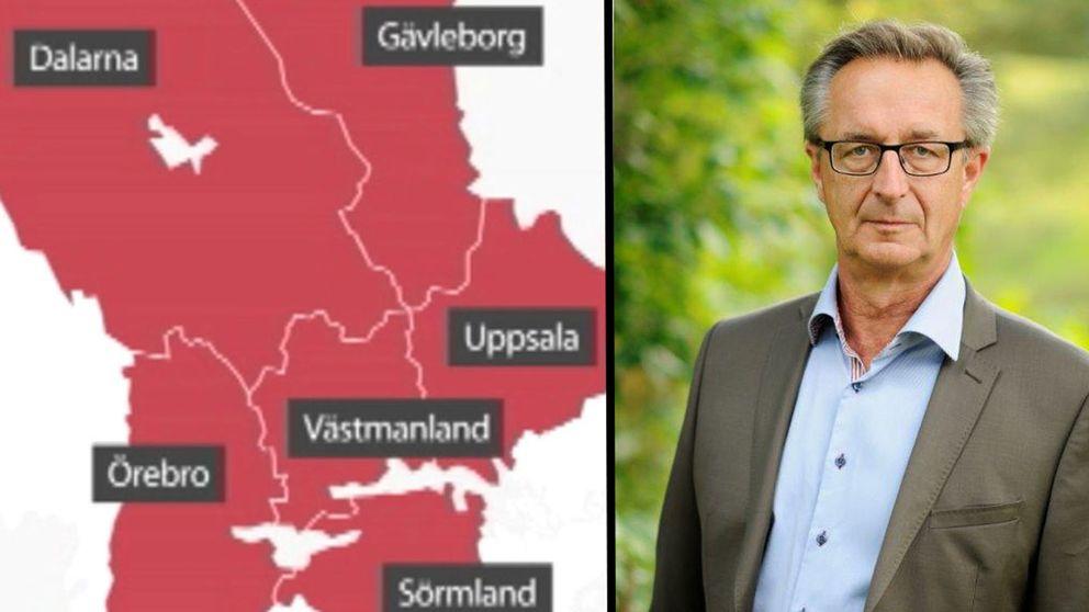 Tomas Högström, Svealandsregion