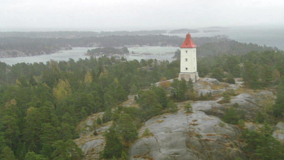 Spårö båk i Västerviks skärgård