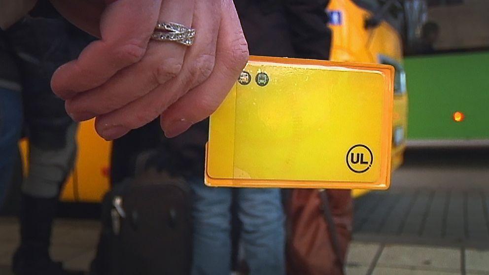UL:s nya taxa börjar gälla den 9 januari.