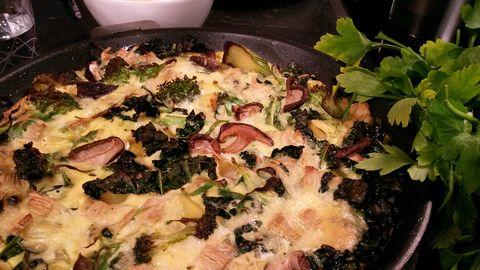 spansk omelett ugn