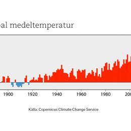 Global medeltemperatur