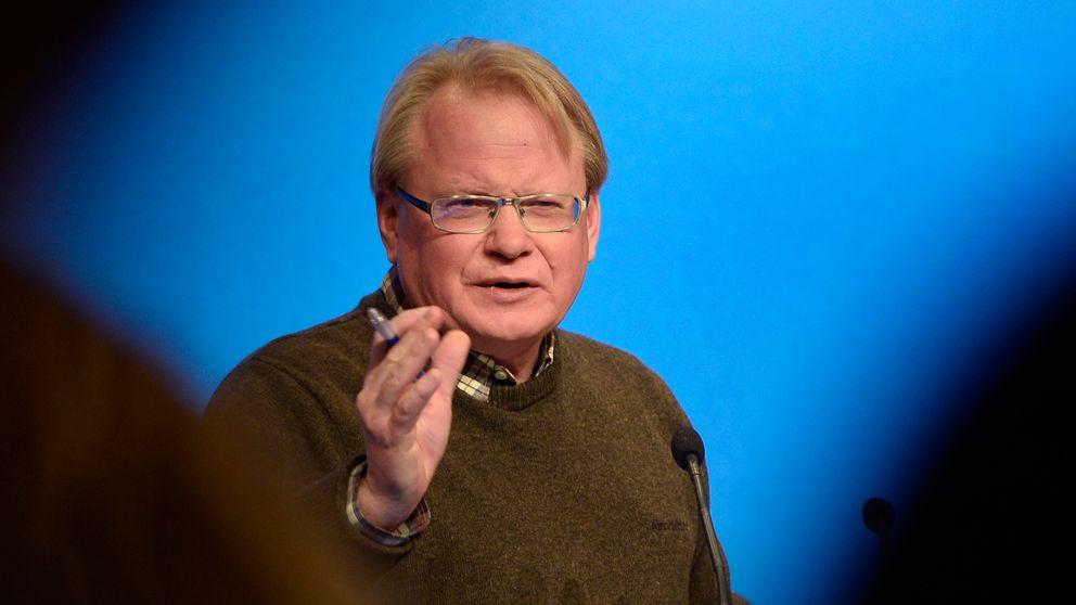 Försvarsminister Peter Hultqvist håller tal på Folk och försvars rikskonferens i Sälen