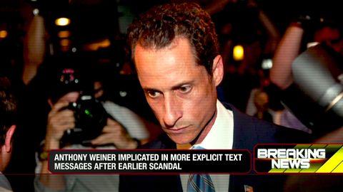 Allt gick som på räls för folkkäre kongressmannen Anthony Weiner - tills tåget spårade ur med full kraft.