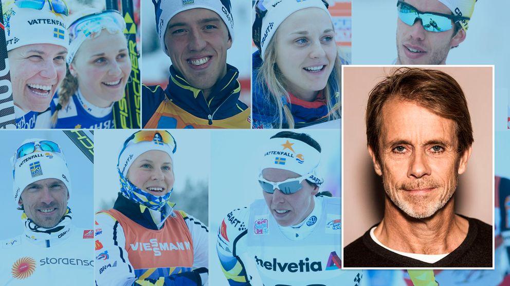 SVT:s längdkommentator listar de största svenska medaljerna i VM.