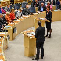 Plenisalen i riksdagen