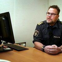 Fredrik Persson är lokalpolisområdeschef för Gotland