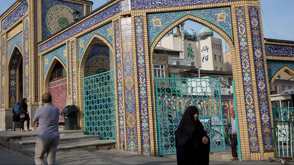 En moské i Teheran.