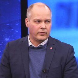 Justitieminister Morgan Johansson (S) i SVT:s Aktuellt 10 januari.