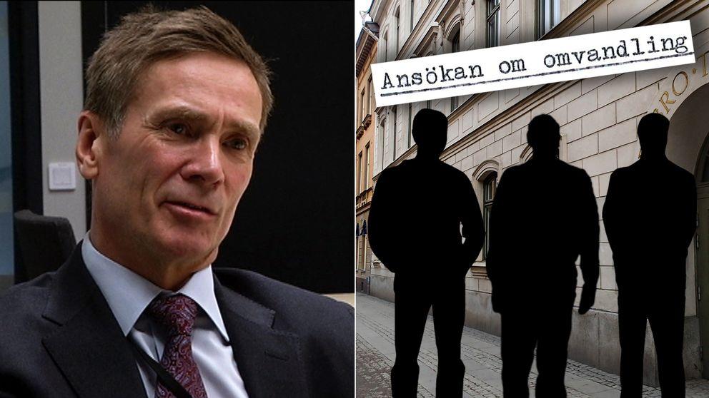 Björn Lindén, lagman på Örebro tingsrätt, som sedan 2006 handlägger ansökningar från livstidsdömda som vill bli frigivna.