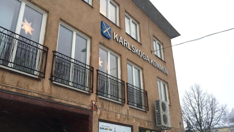 Karlskoga kommunhus.