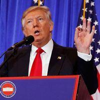 Donald Trump avfärdar uppgifterna i CIA-rapporten som helt falska