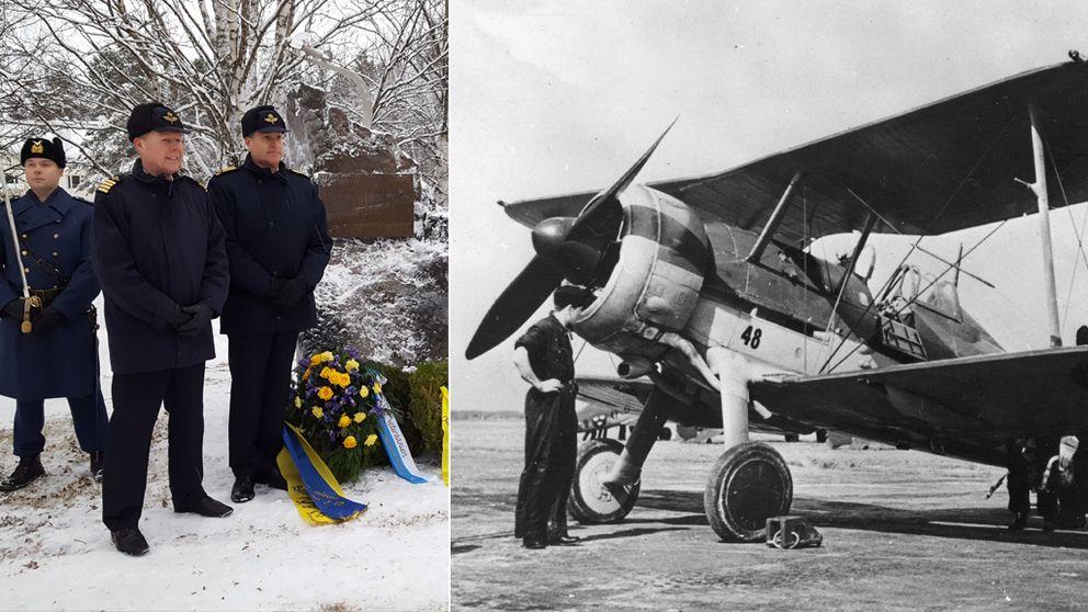 Andra världskrigs-flygplan