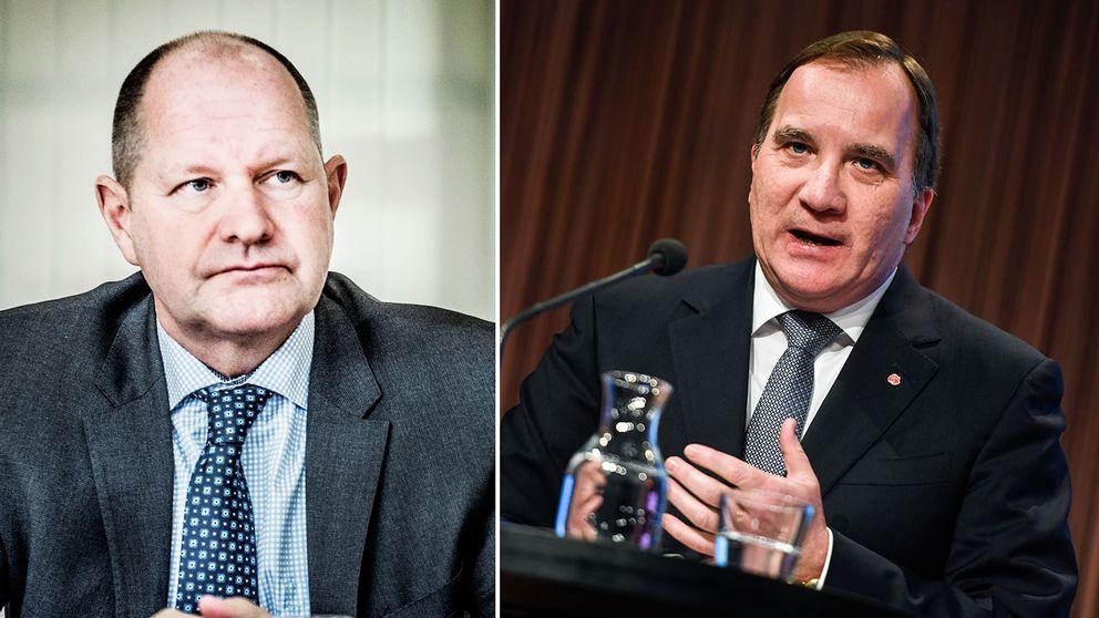 Dan Eliasson och Stefan Löfven