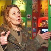 Matilda Pyk på Hasse & Tage-muséet har visionen att världens minsta museum ska växa