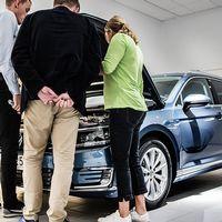 Européerna köper fler bilar. Under december 2016 slogs nytt rekord i antal nya personbilar.
