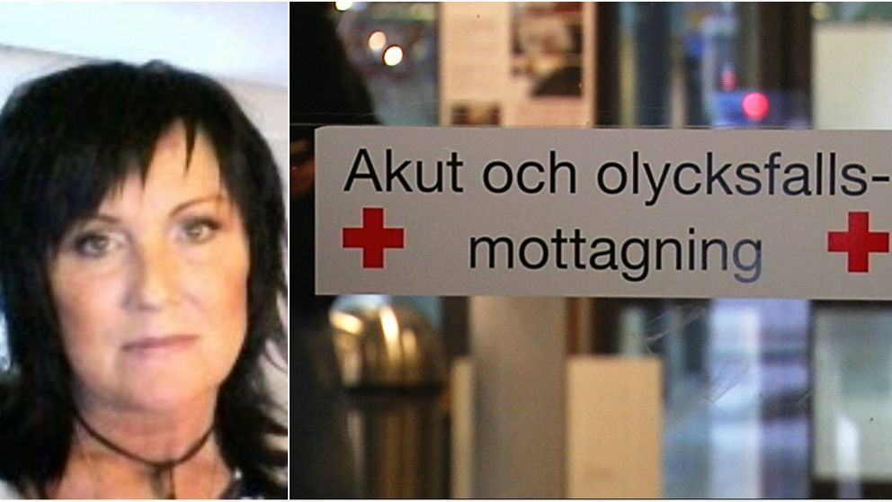Lotti Berntsson har väntat i över ett dygn på akutmottagningen.