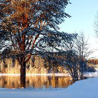 2017-01-16 fanns denna vy vid gäddviksströmmen, Luleå.