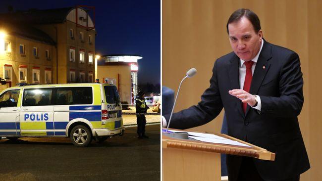 Polisen ger Löfven svar på tal