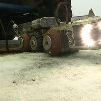 Robothunden som kör i avloppet