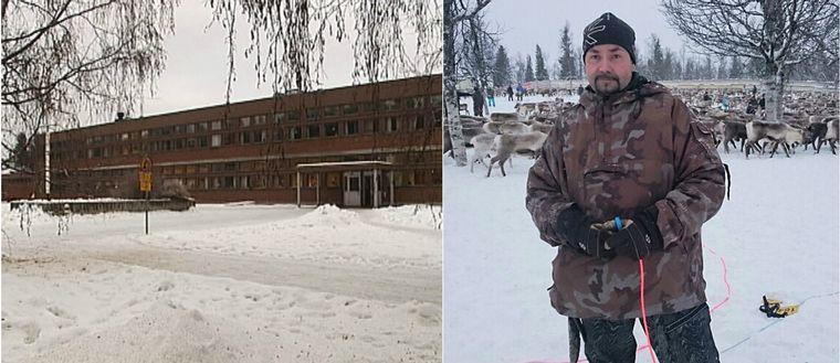 Östra skolan i Jokkmokk och en pappa vars son inte fick prata samiska i skolan