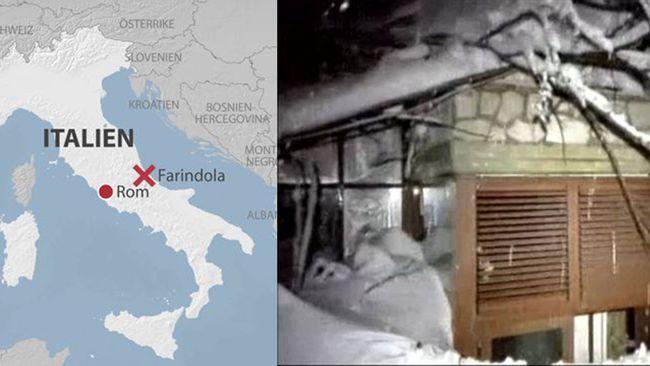 jordbävning italien 2018