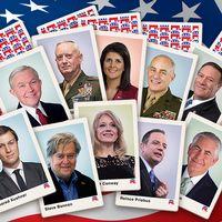 Bild på Trump-kort