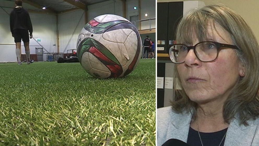 Fotboll, konstgräsplan, Cristel Brorsson