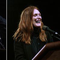 Michael Moore och Julianne Moore
