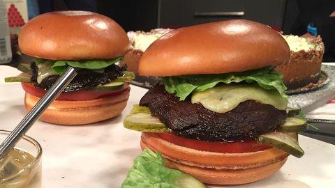 veg hamburgare recept