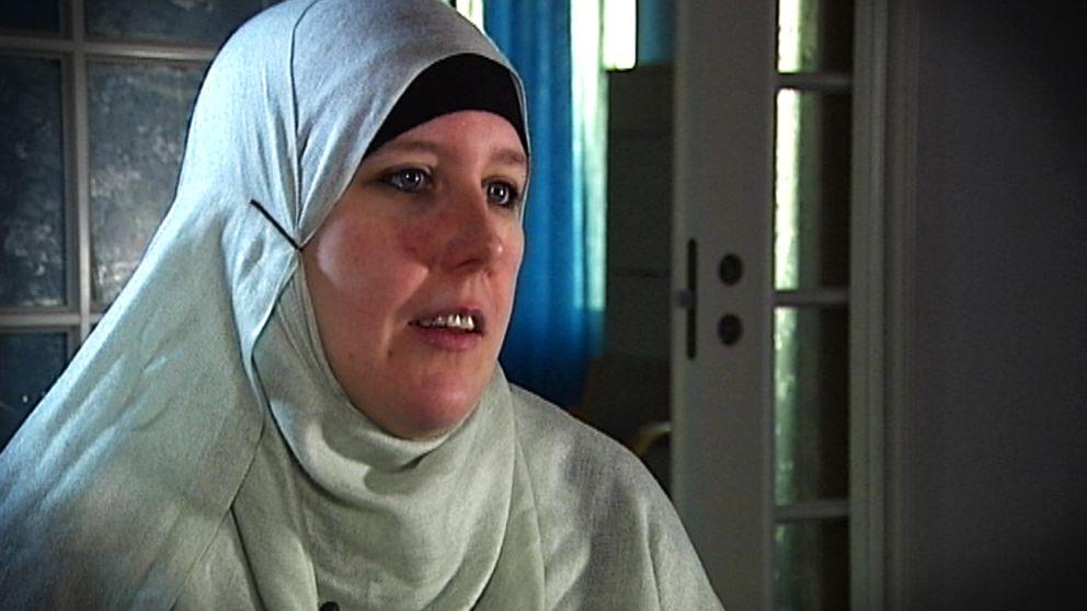 Iman Louise Yousefi är ordförande för Karlstads muslimska kvinnoförening.