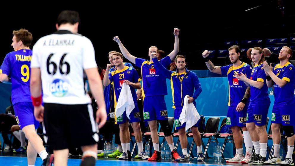 Sverige sänkte Egypten – i första halvlek - Sport   SVT.se