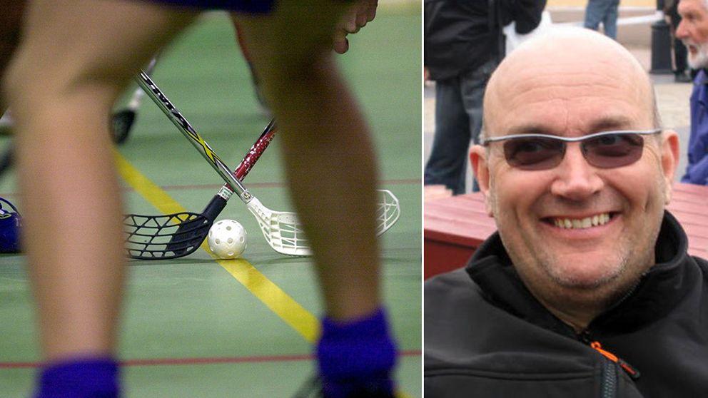 Stefan Lundqvist har själv dömt innebandy i 19 år och vill nu visa sitt stöd.