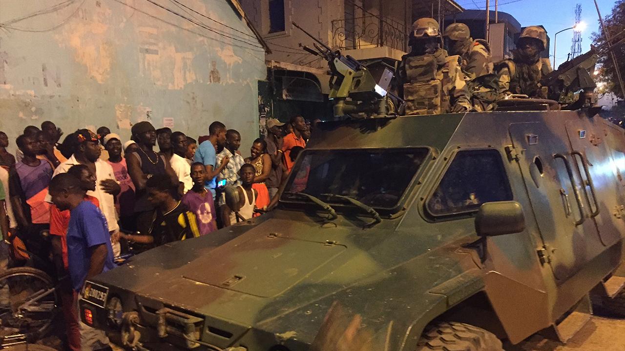 Senegal flyttar militara styrkor till gransen