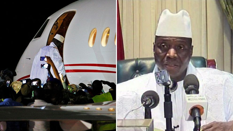 Gambia: Ex-president tömde statskassa
