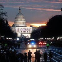 Förberedelser inför D Trumps installation i Washington 20 januari 2017