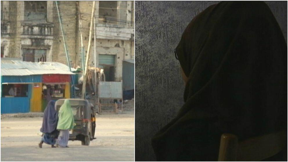 Flydde från terror och barnäktenskap