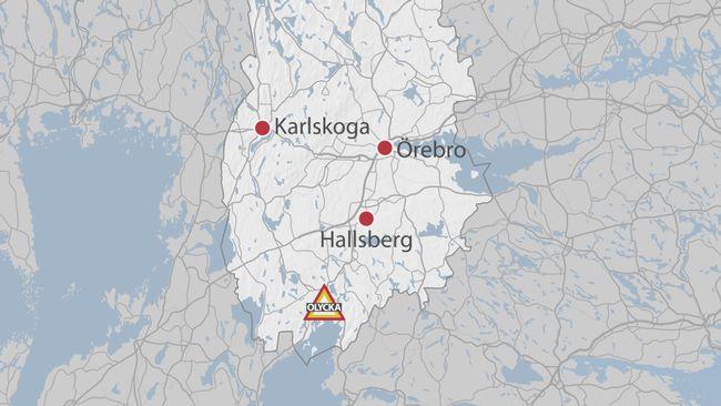 Karta Uso.Vagen Stangdes Av Efter Frontalkrock I Askersund Svt Nyheter