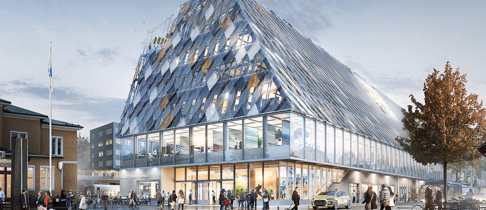 Förslag på kommunhus i Växjö