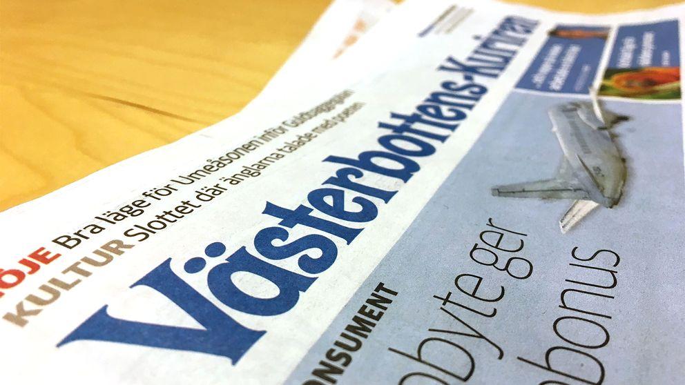 Västerbottens-Kuriren, VK, tidning