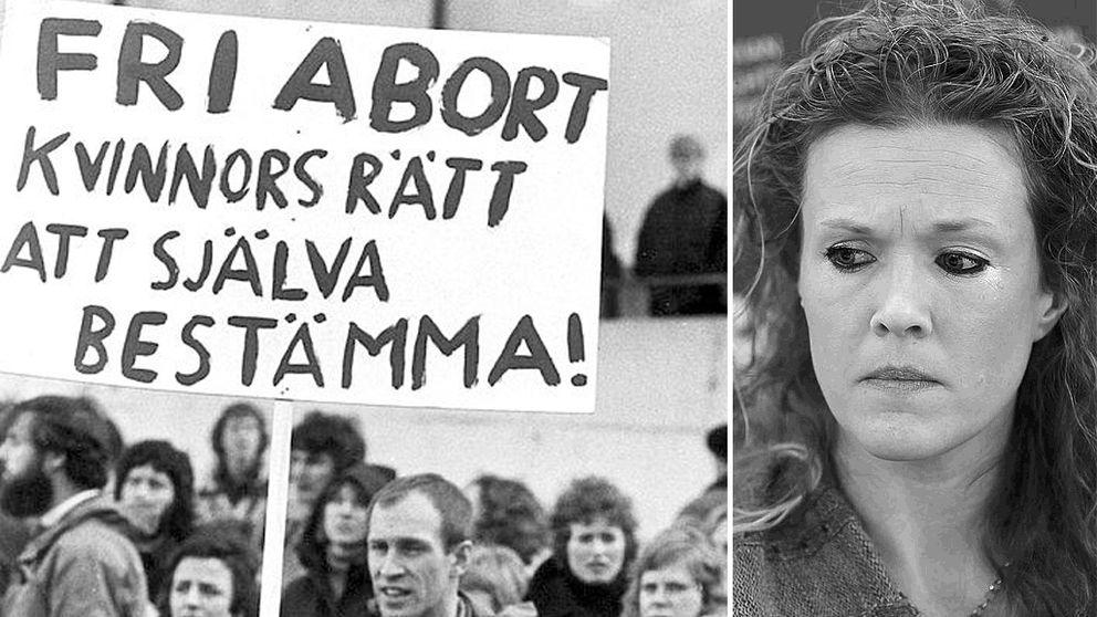 Ellinor Grimmark sparkades efter att hon i yrket vägrat genomföra aborter.