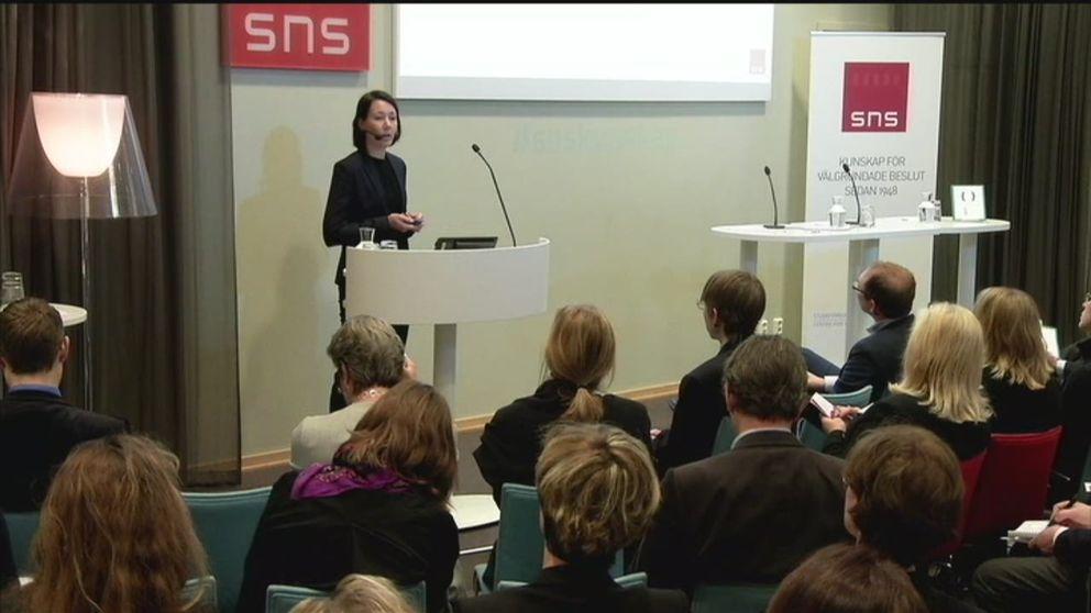 SNS-seminarium om hur fler grupper i samhället ska kunna få arbete