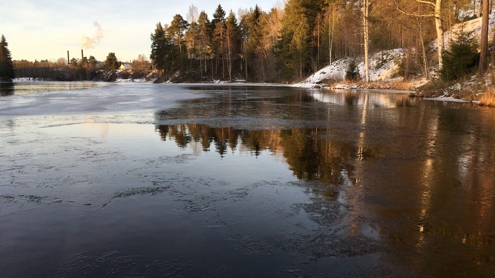 Miljögifter i vattnet.